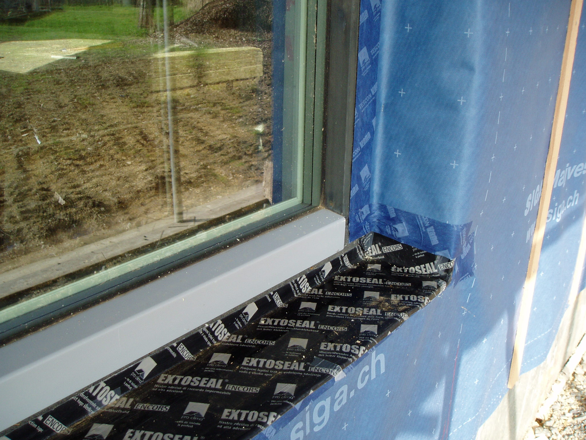 Fishleys Build Page 3 Building A Passivhaus Enco Wiring Diagram Single Phase Outside Window