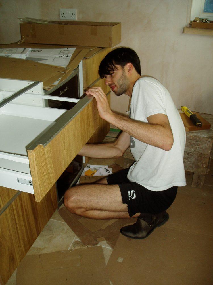 Peter Fixing Drawers