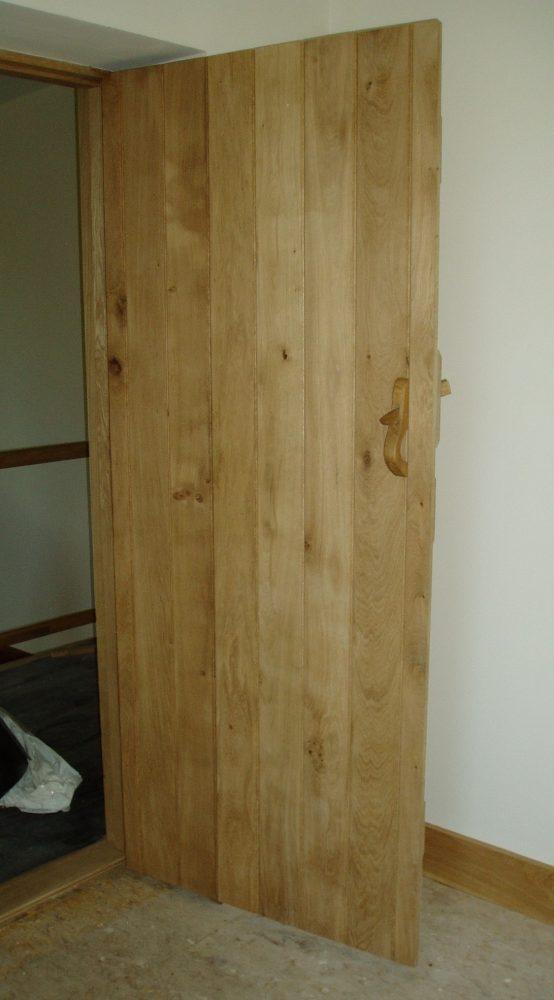 Oak Door Front