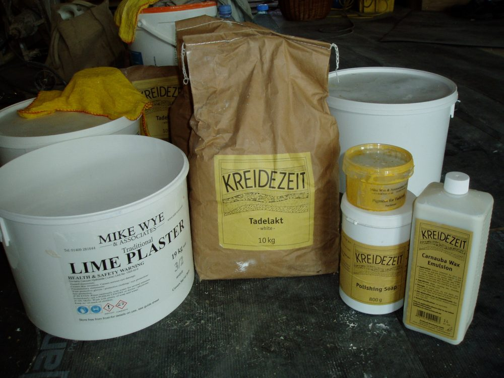 Tadelakt Ingredients